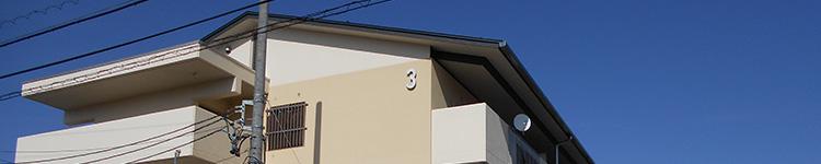 県営住宅アルプス団地3号棟